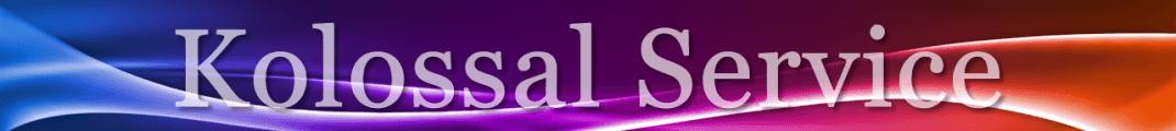 Kolossal Service – Servizi Per Lo Spettacolo